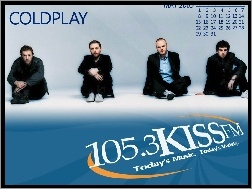 Coldplay, kalendarz